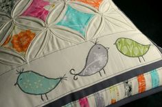 My Pillow Talk Swap from Little Miss Shabby | by twinfibers