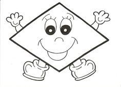 cosetes d'infantil: més formes geomètriques divertides