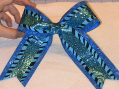 Easy cheer bows!!!