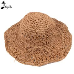 Casual Fashion Wild Beach Hat Rafia Grass Western Cowboy Hat Uv Protection Male And Female Models Sunshade Sunscreen Straw Hat To Adopt Advanced Technology Men's Hats