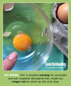 Good Housekeeping is the go-to mag for the busy woman looking for quick, clever, cost-effective ways to maximise her life and her home. Good Housekeeping, Egg Shells, Things To Know, Helpful Hints, Handy Tips, Save Yourself, Cooking Tips, Life Hacks, Clever