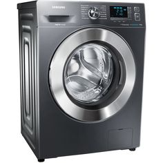 Samsung ecobubble™ Freestanding Washing Machine, Load, A+++ Energy Rating, Spin, Graphite Energy Efficiency, Spinning, Washing Machine, Samsung, Graphite, Beautiful Things, Kitchen, Hand Spinning, Cucina