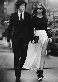 cara delevingne, love the outfit Couple Chic, Classy Couple, Stylish Couple, Couple Style, Perfect Couple, Perfect Match, Rich Couple, Elegant Couple, Beautiful Couple