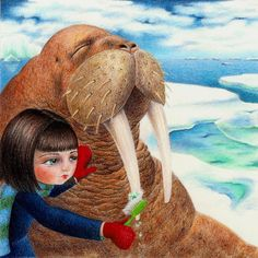 Dental Hygiene, Children's Illustration Print 8x10