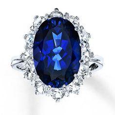 BLING FLING: Diamond and sapphire rings