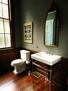 The bathroom is important, and not exactly the kinda place that should be overlooked. Here's a handful of awesome ones to take some inspiration from, whether it's for a sprawling estate or a simple one bedroom bachelor pad. Photos via Blood & Champagne