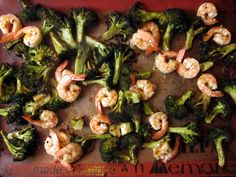 beautiful magic: spicy roasted broccoli & shrimp | Everybody Likes Sandwiches