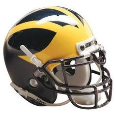 Michigan Wolverines NCAA Authentic Full Size Helmet