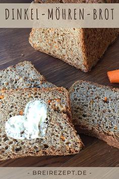 Brot ohne Salz für Baby, Kleinkind und alle, die sich bewusst und gesund ernähren wollen. Rezept auch für den Thermomix Baby Led Weaning, Cereal, Crumbles, Breakfast, Babys, Bakken, Recipes For Babies, Breads, Morning Coffee