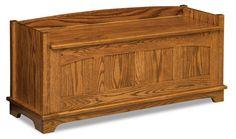 Amish Royal Heritage Storage Bench