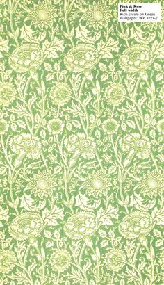 Historic Style - Pink & Rose by William Morris