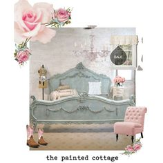 French Bed Painted Cottage Shabby Chic Romantic Bed Queen King (35 MXN) ❤ liked on Polyvore featuring home, furniture, beds, bedroom furniture, beds & headboards, black, home & living, queen headboard, black queen bed and black king bed