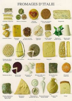 I must admit that I personally think that the French cuisine is better than the Italian, especially when it comes to cheese!Nevertheless I absolutely admire and love Italian dishes and Italian cheese. Wine Recipes, Cooking Recipes, Cooking Bacon, Dishes Recipes, Cheese Recipes, Cooking Tips, Fromage Cheese, Raclette Cheese, Do It Yourself Food