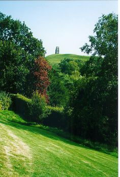 Glastonbury Tor seen from the Chalice Well Garden by a59rambler on Flickr.