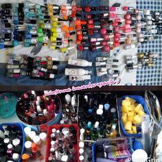 Moja mała i skromna kolekcja lakierów ;)