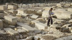A Jewish group in Jerusalem is using 21st-century technology to map every tombstone in the ancient cemetery on the Mount of Olives, a sprawling, politically sensitive necropolis of 150,000 graves stretching back three millennia. http://www.ctv.ca/CTVNews/World/20111117/israelis-mapping-ancient-cemetery-111117/