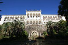 Абхазия. Гагра. Заброшенный пансионат