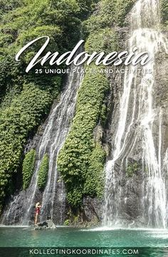 25 Unique Places and Things to do in Indonesia #indonesia #bali #komodo #rajaampat #sulawesi