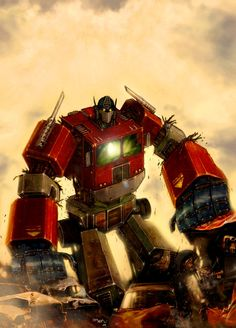Optimus Prime - Transformers - Chris Bolton