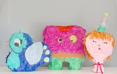 15 Diy Pinatas for party and birthday on moma