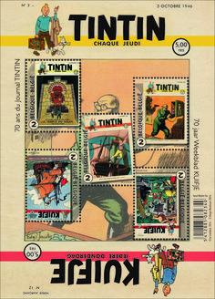 Bpost and Tintin magazine