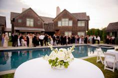 A Hamptons Backyard Wedding | The Hamptons Weddings | Photography by Berit Bizjak of Images by Berit | The Hamptons Wedding Photographer | Wedding Flowers | Wedding Floral Arrangement | @kimjondesigns