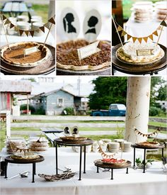 Mississippi Wedding At The Shack Up Inn Wedding Sweets, Wedding Cakes, Dessert Bars, Dessert Table, Humingbird Cake Recipe, Burnt Sugar Cake, Shoofly Pie, Traditional Wedding Cake, Pineapple Upside Down Cake