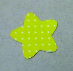 Estrela - Pingente em feltro - De Tudo Um Pouco