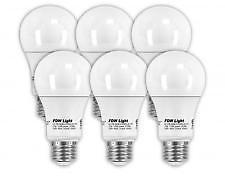 60 Watt Equivalent SlimStyle LED Light Bulb Soft White 2700K 6 Pack 60W A196