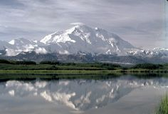 Mount McKinley in Alaska. I need to visit again soon. Beautiful