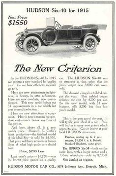 1914 Hudson Ad
