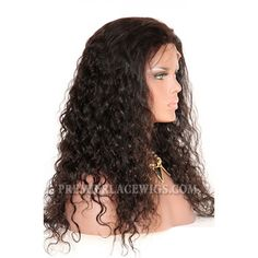 Brazilian virgin hair brazilian curl full lace wigs