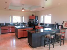 Gourmet Kitchen in on of our listings on the west end of the island!