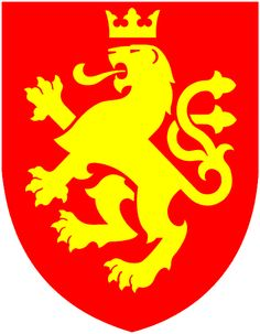 1st tattoo - black on my right hip; Macedonian Coat of Arms.