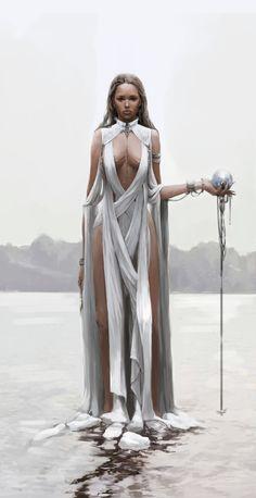 ArtStation - White Witch, Jiyeon Ryu