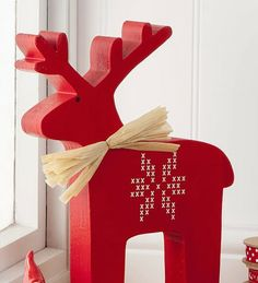 large nordic wooden christmas reindeer by the contemporary home… Pictures Of Christmas Decorations, Scandinavian Christmas Decorations, Swedish Christmas, Christmas Wood, Xmas Decorations, All Things Christmas, Christmas Holidays, Christmas Crafts, Christmas Ornaments