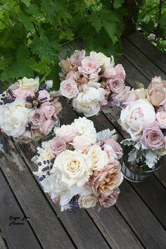 Vintage wedding flowers at Quat Quatta | Sugar Bee Flowers