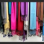 London Shawls. Gorgeous colours and elegant for any occasion.