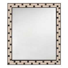 Home Decorators Collection Argonne 32.5 in. x 28 in. Mirror in Espresso Frame-0416710820 - The Home Depot