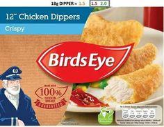 Birds eye chicken dippers Slimming World Syns, Slimming World Recipes, Snack Recipes, Healthy Recipes, Snacks, Chicken Dippers, Chips, Ethnic Recipes, Food