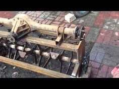 САМОДЕЛЬНА ФРЕЗА НА МИНИ ТРАКТОР - YouTube 8n Ford Tractor, Tractor Seats, Tractor Mower, Metal Projects, Welding Projects, Homemade Tractor, Agriculture Machine, Tractor Accessories, Small Tractors