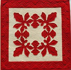 Another Hawaiian quilt block