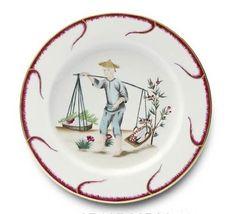 Alberto Pinto Chinoiserie Buffet Plate