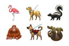 Apple Reveals New 2019 Emojis for World Emoji Day Apple Emojis, New Emojis, Every Emoji, People Holding Hands, World Emoji Day, Emoji Set, Emoji Design, Different Skin Tones, Guide Dog