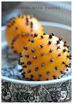How to make oranges with cloves by lilla a.