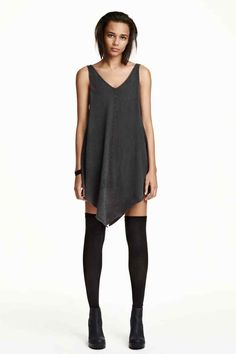 Vestido corto de punto | H&M