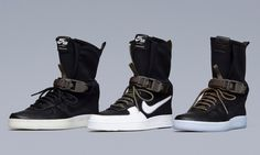 [NEWS] An Official Look at the ACRONYM x Nike AF1 Downtown Hi SP
