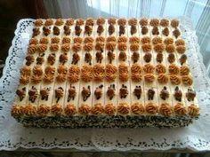 Czech Recipes, Russian Recipes, Sweet Recipes, Healthy Recipes, Cake Bars, Wedding Desserts, Mini Cakes, Vanilla Cake, Sweets