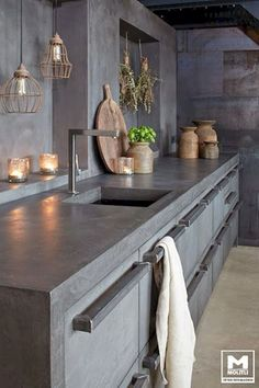 Supreme Kitchen Remodeling Choosing Your New Kitchen Countertops Ideas. Mind Blowing Kitchen Remodeling Choosing Your New Kitchen Countertops Ideas. Cement Countertops, Outdoor Kitchen Countertops, Kitchen Tiles, Kitchen Flooring, Kitchen Furniture, Kitchen Interior, Kitchen Sink, Cheap Furniture, Furniture Nyc