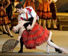 power couple Natalia Osipova and Ivan Vasiliev in Don Quixote.